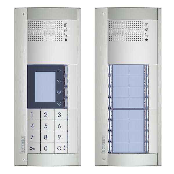 Audio Intercom Entry Panels