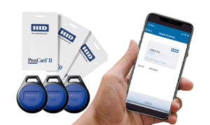 Security FOBs Cards