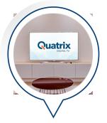 Quatrix Testimonials TV For The Home